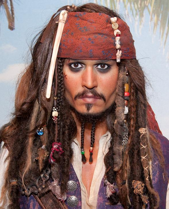 Madame Tussauds Unveils Wax Figure of Johnny Depp as Captain Jack Sparrow from Pirates of the Caribbean