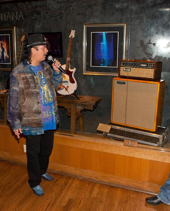 Carlos Santana talks about the Mesa Boogie Mark I amplifier