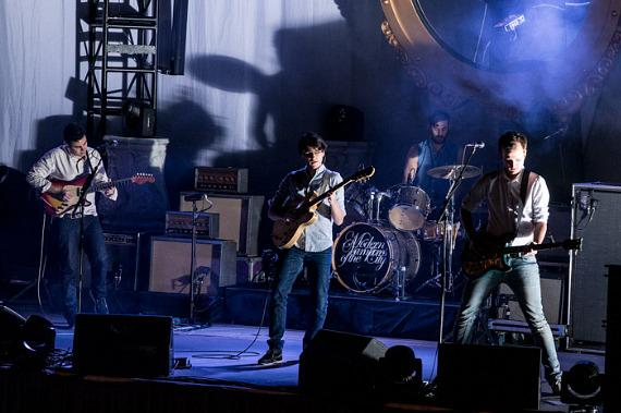Vampire Weekend performs at The Boulevard Pool at The Cosmopolitan of Las Vegas