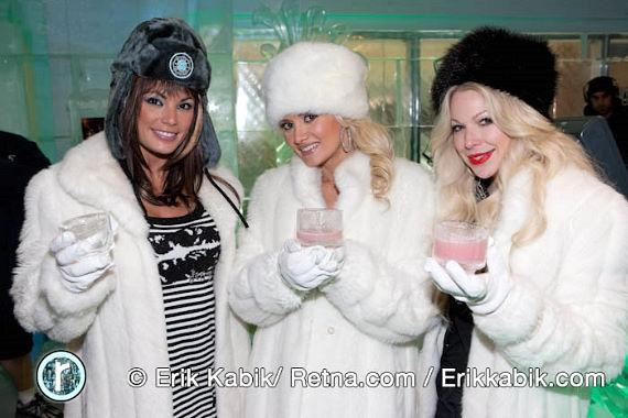 Laura Croft, Holly Madison and Joyce Bonelli
