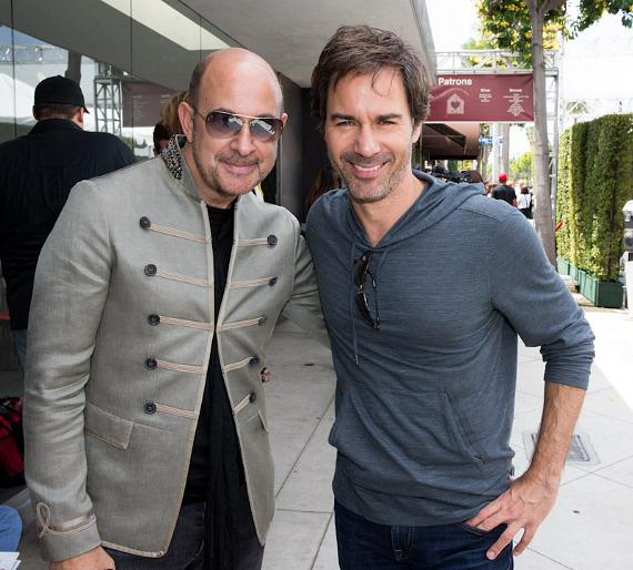 John Varvatos and Eric McCormack