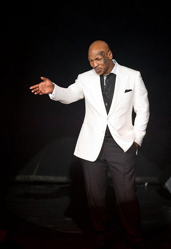 "Mike Tyson performs his ""Undisputed Truth"" show in Las Vegas"
