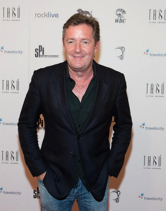 Talk show host Piers Morgan