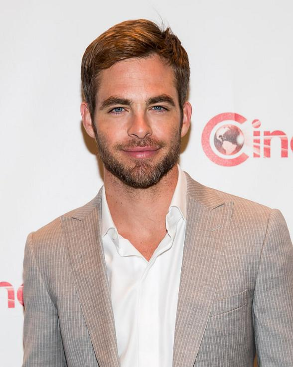 Chris Pine at CinemaCon 2013
