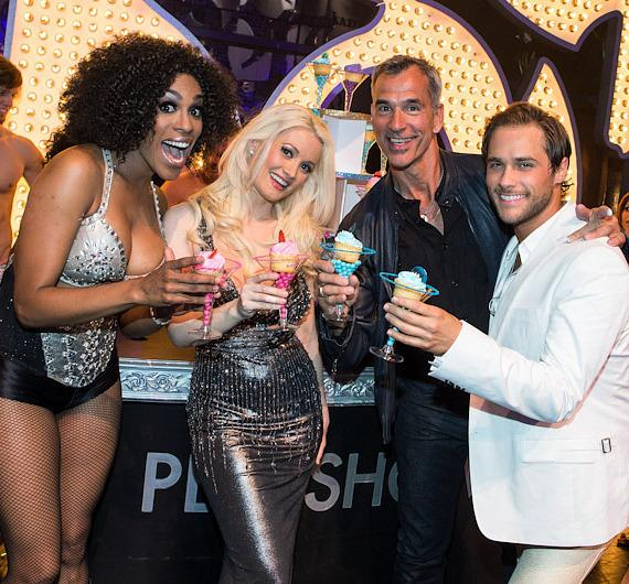 Cheaza, Holly Madison, Jerry Mitchell and Josh Strickland
