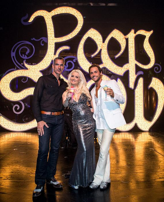 Jerry Mitchell, Holly Madison and Josh Strickland