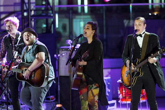 Of Monsters And Men Perform at The Boulevard Pool at The Cosmopolitan of Las Vegas