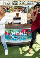Norwegian duo Nico & Vinz perform at REHAB Pool Party at Hard Rock Hotel & Casino
