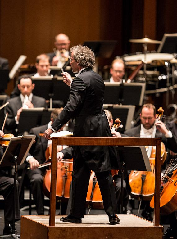 Franz Welser-Möst with The Cleveland Orchestra at The Smith Center for Performing Arts in Las Vegas