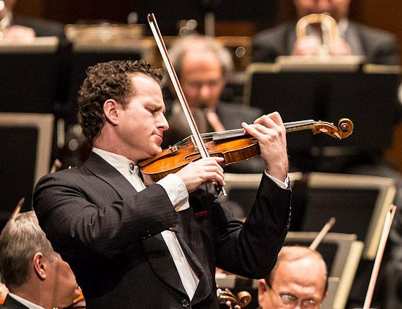 Violinist Nikolaj Znaider with The Cleveland Orchestra at The Smith Center for Performing Arts in Las Vegas