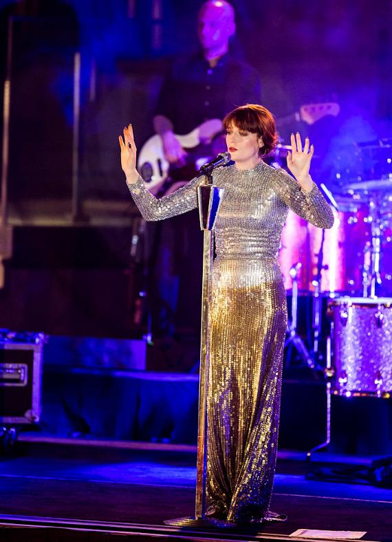 Florence + The Machine performs at the Boulevard Pool at The Cosmopolitan of Las Vegas