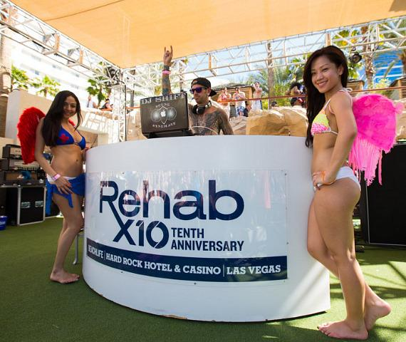 Hard Rock Hotel Las Vegas launches Rehab 10th Anniversary Season