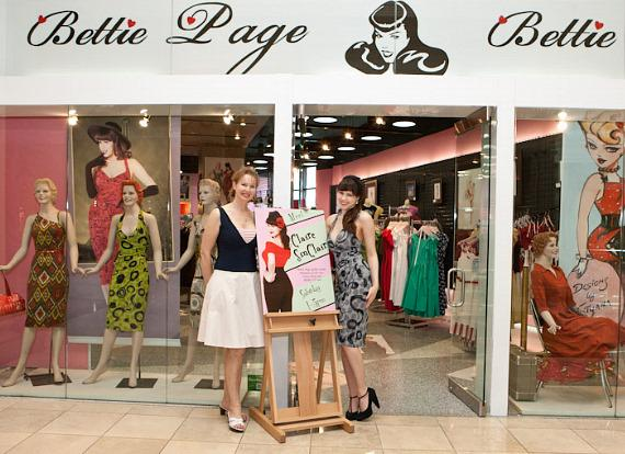 Bettie page clothing store