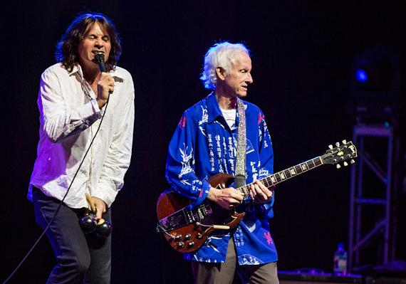 Dave Brock and Robby Krieger perform at Aliante Station