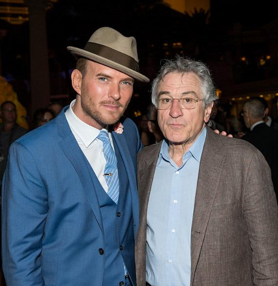 Matt Goss and Robert De Niro