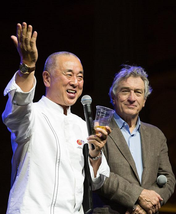 Chef Nobu Matsuhisa and Robert De Niro