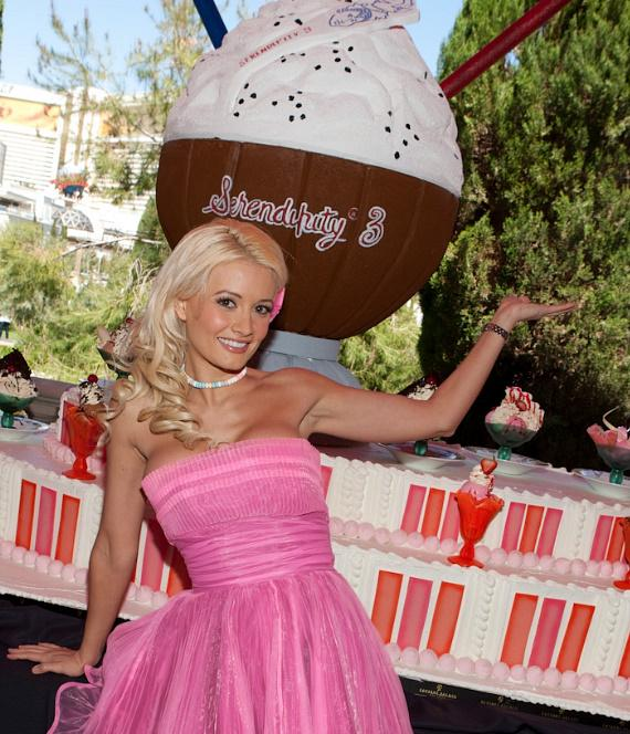 Holly Madison at Serendipity 3