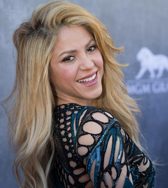 Singer Shakira at 49th ACM Awards in Las Vegas