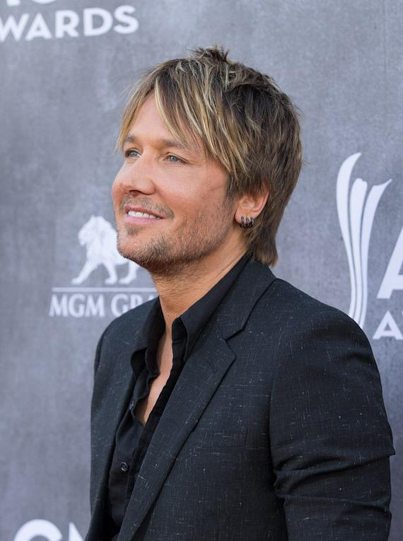 Singer Keith Urban at 49th ACM Awards in Las Vegas