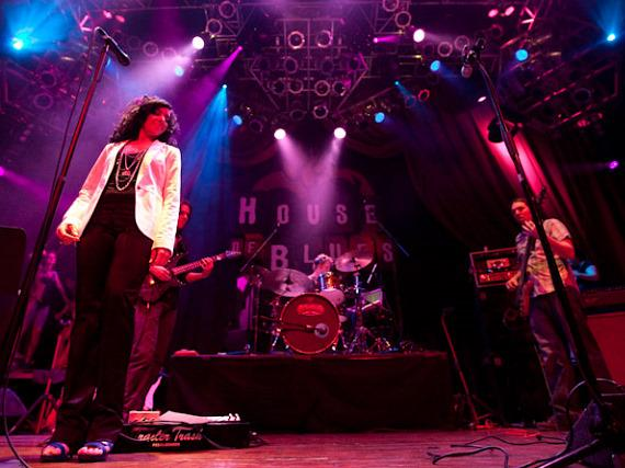 Moksha performs at House of Blues in Las Vegas