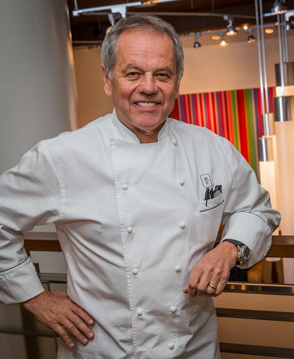 "Wolfgang Puck Signs New Book ""Wolfgang Puck Makes It Healthy"" at Spago"