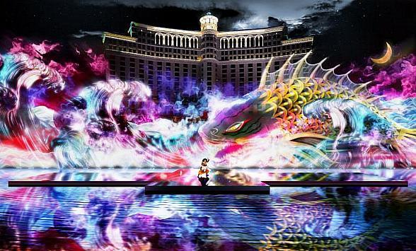Kabuki Spectacle Debuts on Las Vegas Strip at Bellagio
