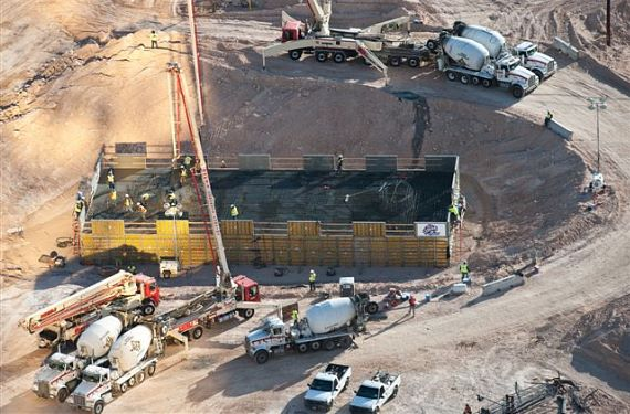 Construction begins on SkyVue