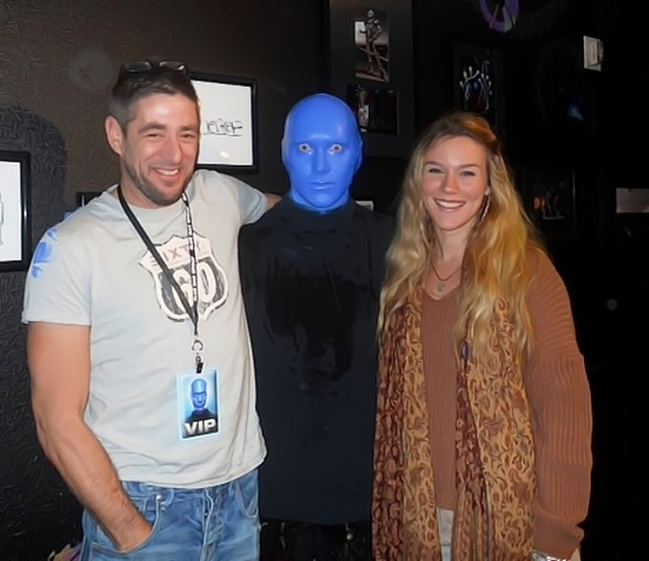 Joss Stone attends Blue Man Group in Monte Carlo Resort and Casino