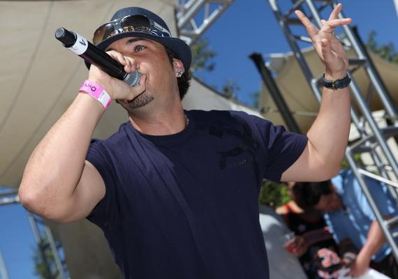 Baby Bash at Palms Pool