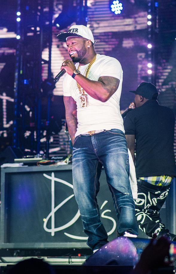 50 Cent Celebrates 41st Birthday and Season Three Premier of