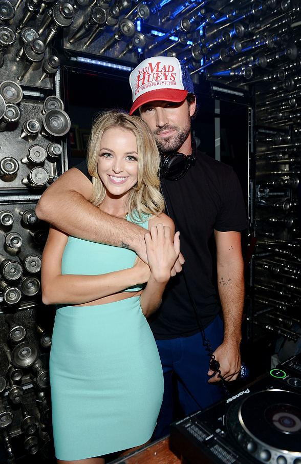 Brody Jenner and his girlfriend Kaitlynn Carter had fun during Jenner's Las Vegas DJ debut at Hyde Bellagio