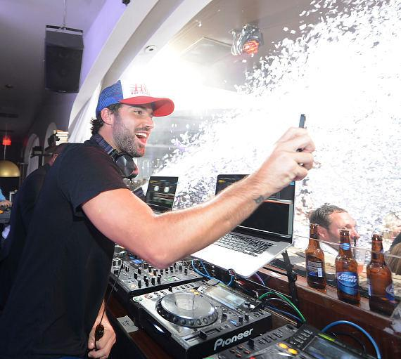 Brody Jenner at his Las Vegas DJ debut at Hyde Bellagio