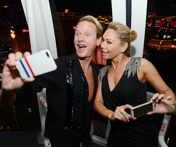 Carson Kressley and Kym Johnson Ride The High Roller at The LINQ in Las Vegas