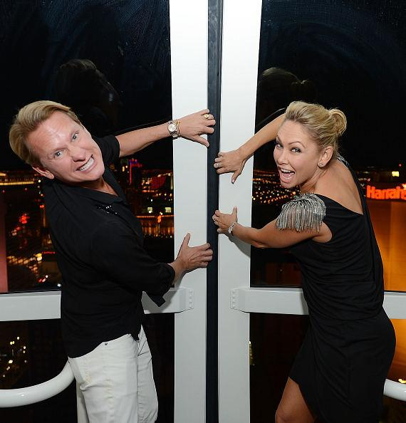 Carson Kressley and Kym Johnson inside The High Roller at The LINQ