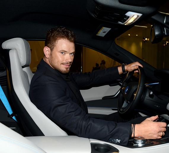 Actor Kellan Lutz attends the SLS Las Vegas grand opening celebration