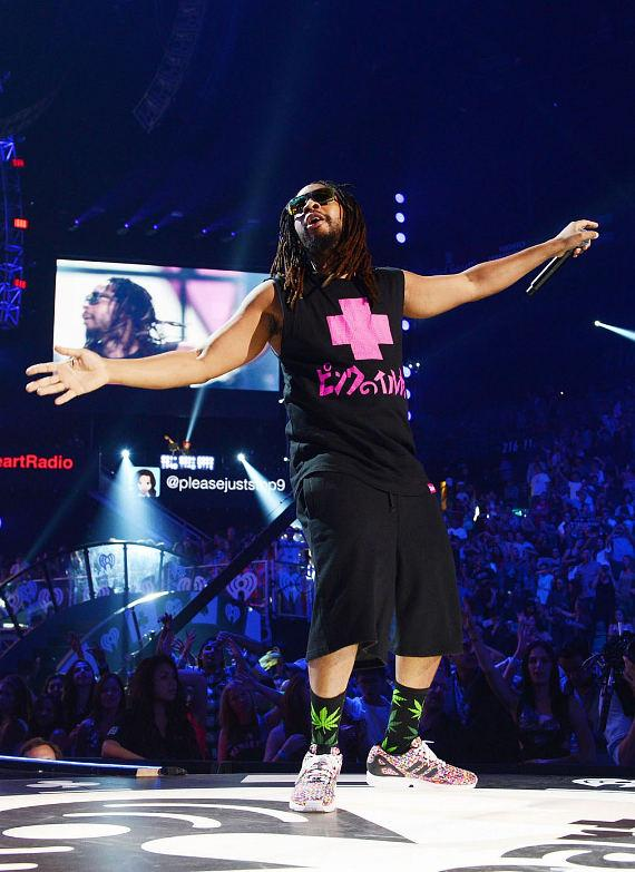 Recording artist Lil Jon performs onstage during the 2014 iHeartRadio Music Festival at the MGM Grand Garden Arena