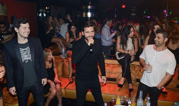 Scott Sartiano and Scott Disick attend the Mirage Hotel and Casino Resort
