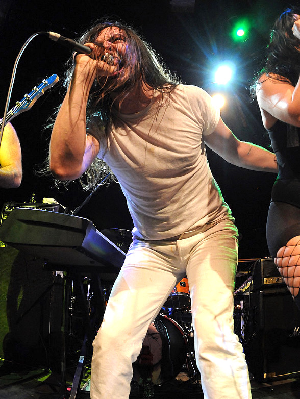 Andrew W.K. performs at Body English at Hard Rock Hotel & Casino