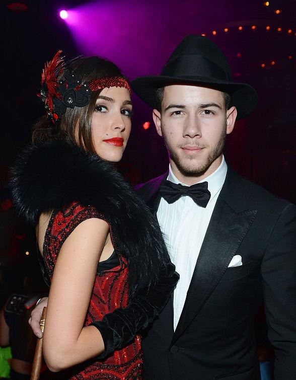 Nick Jonas and Girlfriend Olivia Culpo Host Halloween Party at 1 OAK Nightclub in The Mirage