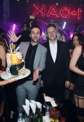 Macklemore & Ryan Lewis Perform at 1 OAK Nightclub