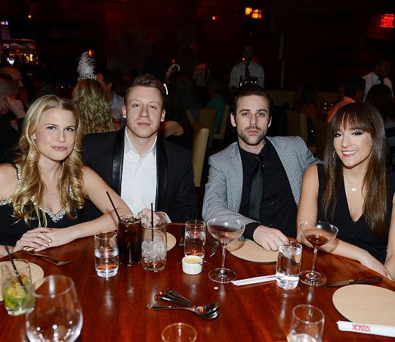 Macklemore & Ryan Lewis dine at STACK with close friends, Macklemore's fiancee and mother in law