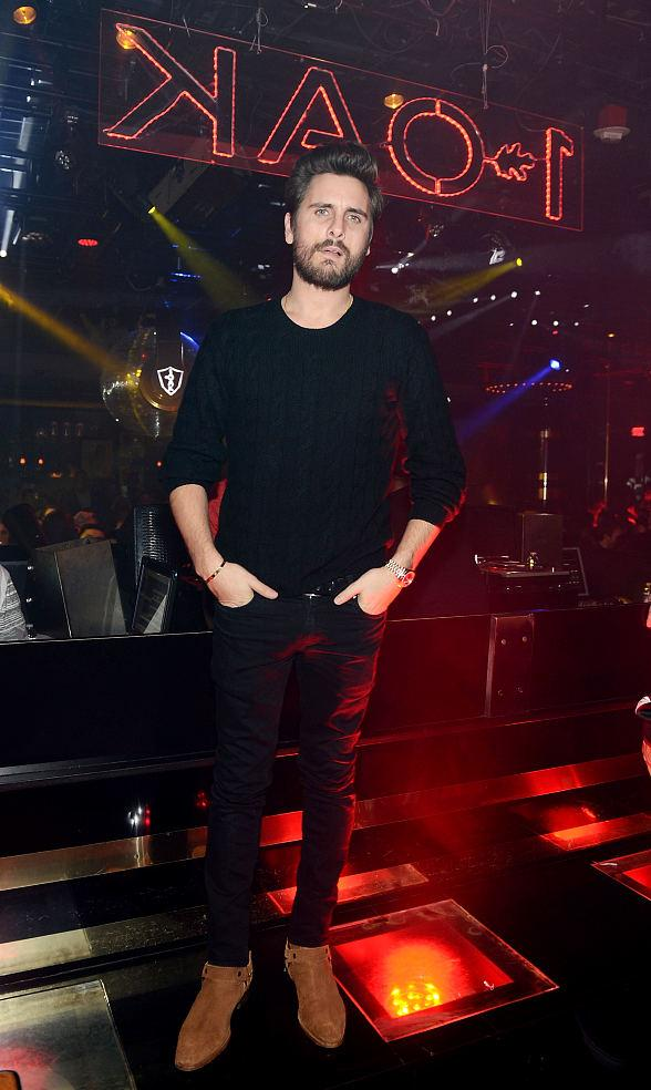 Scott Disick Hosts 1 Oak Nightclub at The Mirage in Las Vegas
