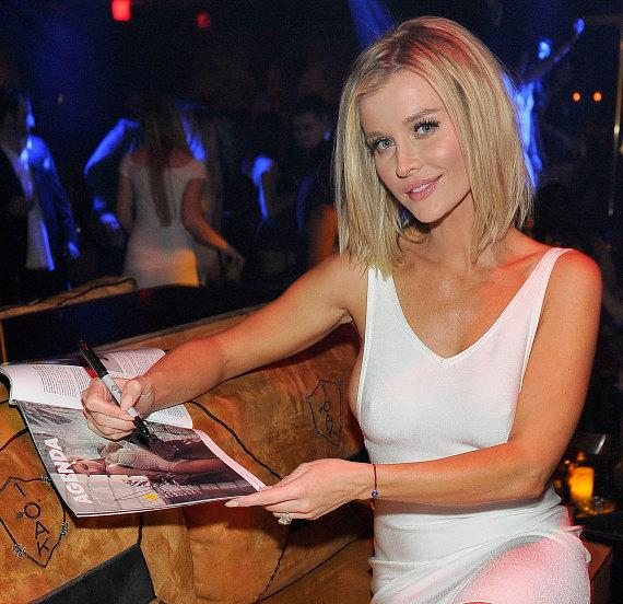 Model and Actress Joanna Krupa signs autographs her MAXIM article at 1OAK Nightclub at The Mirage in Las Vegas