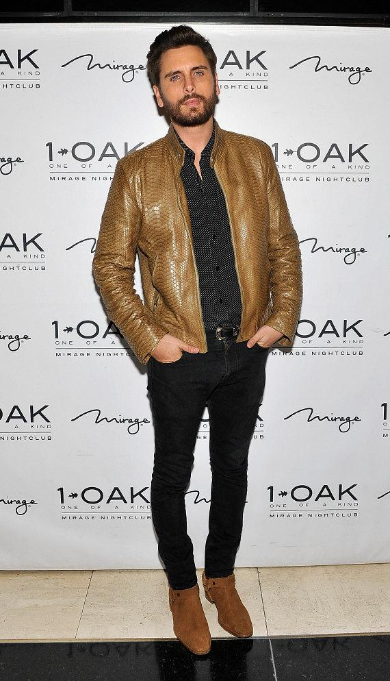 Scott Disick arrives at 1OAK in The Mirage Las Vegas