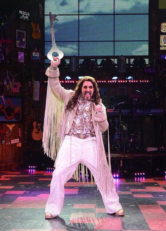 Rock of Ages guest star Joey Fatone receives key to Bourbon Room at The Venetian Las Vegas