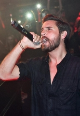 Scott Disick Hosts 1 OAK Nightclub at The Mirage Las Vegas
