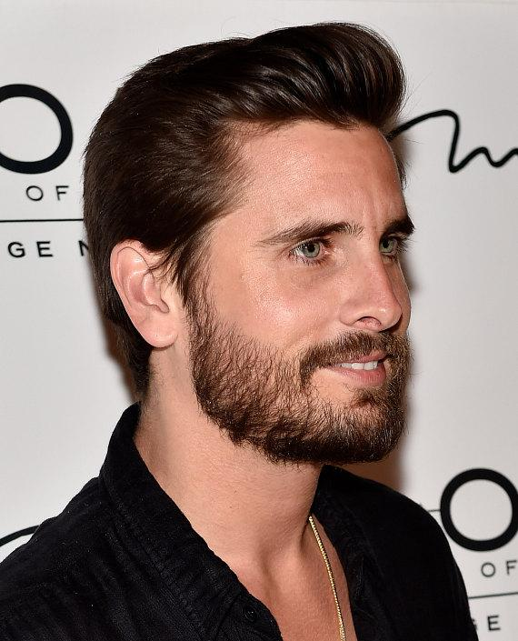 Scott Disick arrives at 1 OAK Nightclub at The Mirage Hotel & Casino on March 27, 2015 in Las Vegas