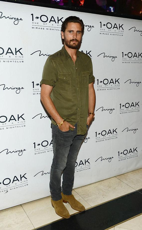 Scott Disick arrives at 1 OAK Nightclub at The Mirage Hotel & Casino on June 26, 2015 in Las Vegas