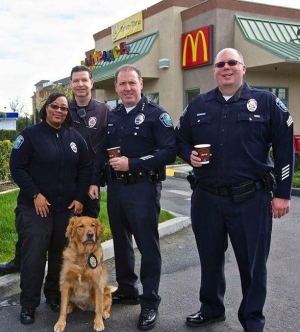 """McDonald's to Partner with Local Law Enforcement for """"Coffee with a Cop"""" Event Feb. 14-26"""