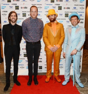 "Imagine Dragons Host ""Imagine a World without Cancer Gala"" with Live Performance to Benefit The Tyler Robinson Foundation"